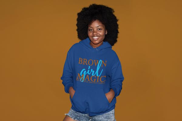 Beautiful Brown Girls Hoodie